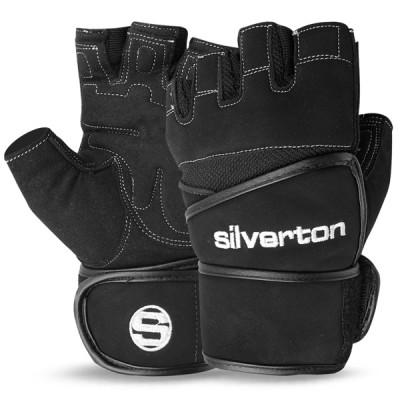 Weight Lifting Gloves Gym Fitness Fingerless Long Wrist Gloves - 250
