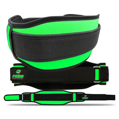 Weight Lifting Neoprene Belt Lumber Pain Back Support Fluorescent