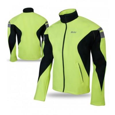 Cycling Winter Soft Shell Thermal Jacket Hi-Viz